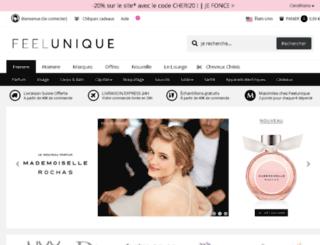 fr.feelunique.com screenshot