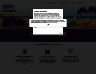 fr.fireflycarrental.com screenshot