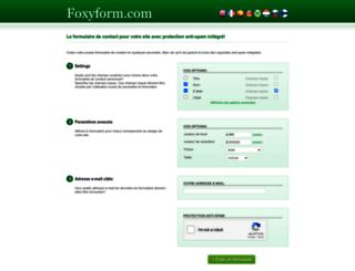 fr.foxyform.com screenshot