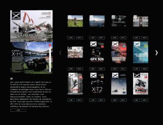 fr.fujifilmxmagazine.eu screenshot