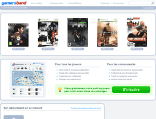 fr.gamersband.com screenshot