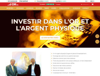 fr.goldbroker.com screenshot