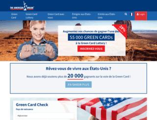 fr.green-card.com screenshot