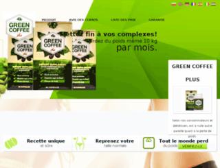 fr.greencoffeeforyou.eu screenshot