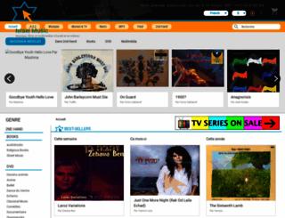 fr.israel-music.com screenshot
