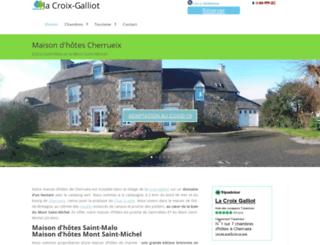 fr.la-croix-galliot.com screenshot