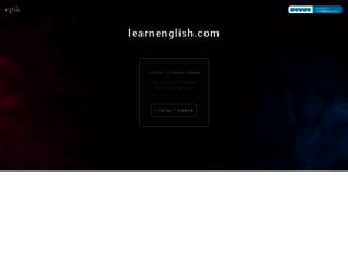 fr.learnenglish.com screenshot