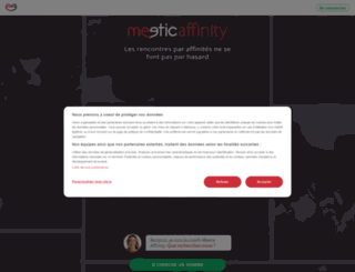 fr.meeticaffinity.ch screenshot
