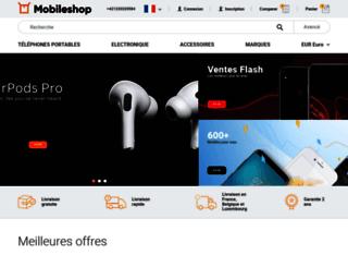 fr.mobileshop.eu screenshot
