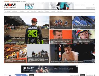 fr.motocrossmag.be screenshot
