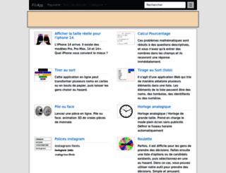 fr.piliapp.com screenshot