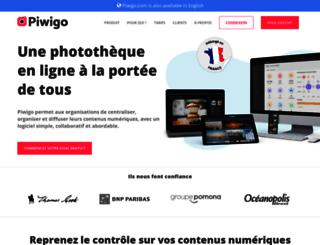 fr.piwigo.com screenshot