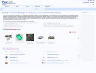 fr.plastfind.com screenshot