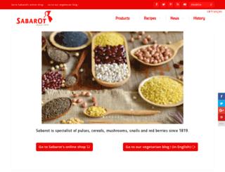 fr.sabarot.com screenshot