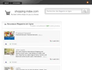 fr.shopping-index.com screenshot