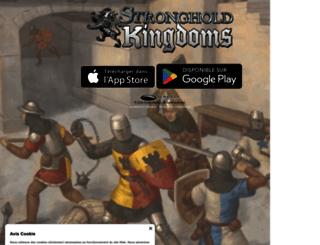 fr.strongholdkingdoms.com screenshot