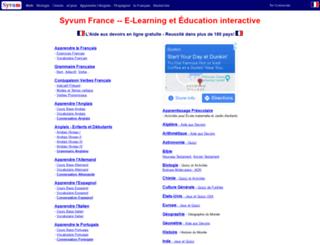 fr.syvum.com screenshot
