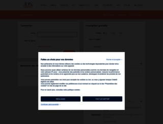 fr.viadeo.com screenshot