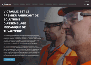 fr.victaulic.com screenshot
