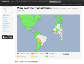 fr.visamap.net screenshot
