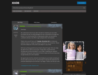 fr.xivdb.com screenshot