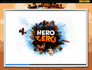 fr1.herozerogame.com screenshot