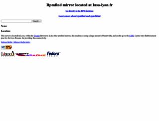 fr2.rpmfind.net screenshot