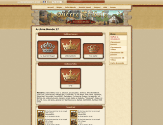 fr27.guerretribale.fr screenshot