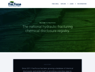 fracfocus.org screenshot