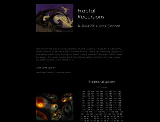fractal-recursions.com screenshot