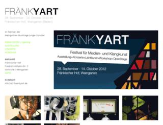 fraenkyart.de screenshot