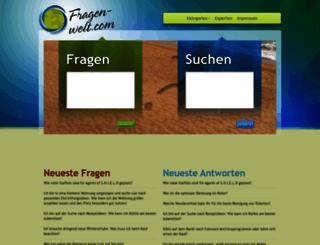 fragen-welt.com screenshot