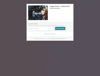 fragged-empire-tabletop-rpg.backerkit.com screenshot