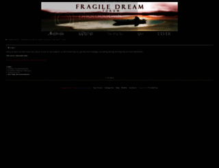 fragile-dream.forumfree.net screenshot