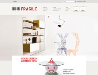 fragilemilano.com screenshot