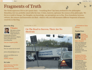 fragments-of-truth.blogspot.com screenshot