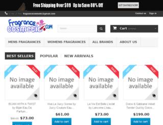 fragrancecosmetic.com screenshot