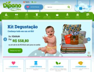 fraldasdipano.com.br screenshot