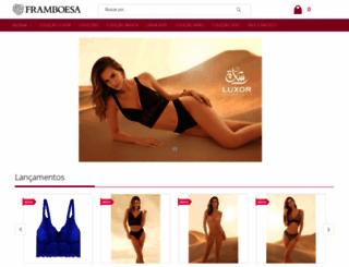framboesalingerie.com screenshot