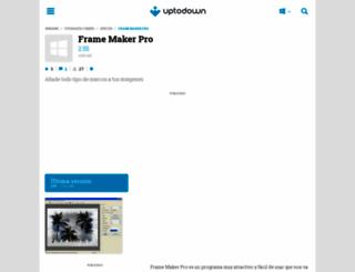 frame-maker-pro.uptodown.com screenshot