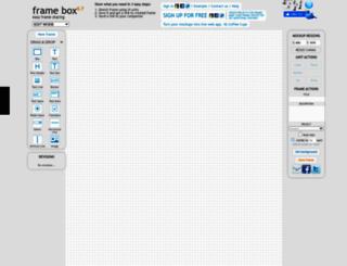 framebox.org screenshot