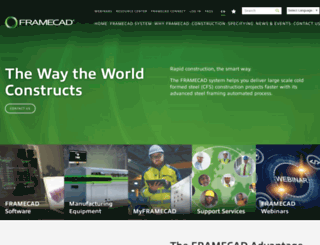 framecadsolutions.com screenshot