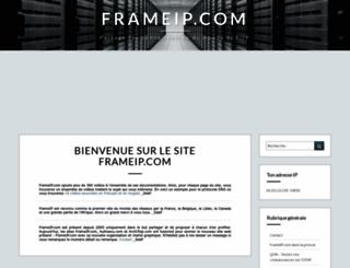 frameip.com screenshot