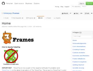 frames.tinkerpop.com screenshot