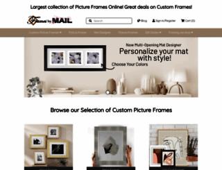 framesbymail.com screenshot