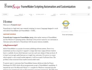 framescript.com screenshot