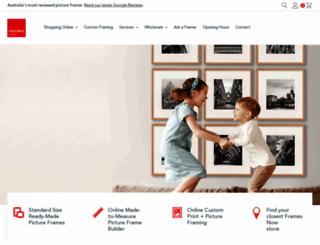 framesnow.com.au screenshot