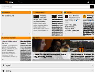 framinghamstate-test.modolabs.net screenshot