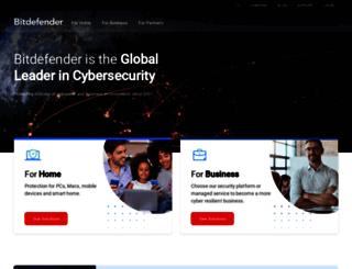 frams.bitdefender.com screenshot