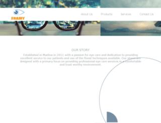 framyoptical.com screenshot